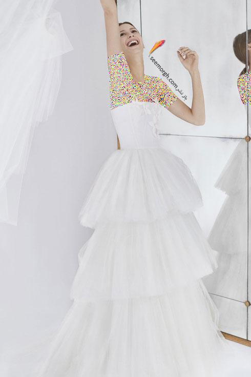 لباس عروس 2018 از کلکسیون زمستانی کارولینا هررا Carolins Herrera - مدل لباس عروس شماره 2