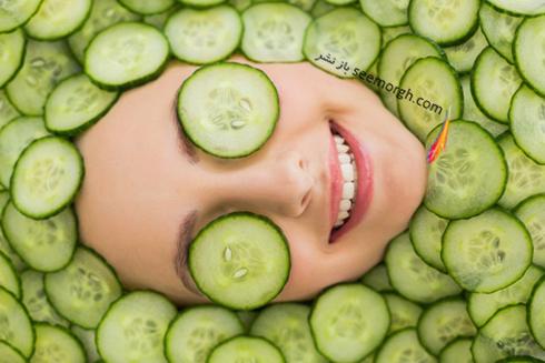 ماسک صورت برای جوانسازی پوست از ماسک زردچوبه تا ماسک خیار