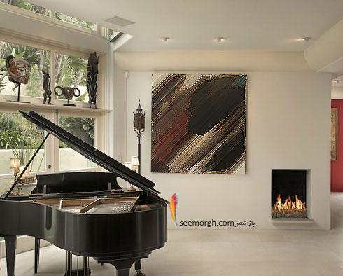 دکوراسیون داخلی خانه گران قیمت هلی بری Halle Berry - عکس شماره 9