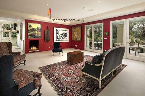 دکوراسیون داخلی خانه گران قیمت هلی بری Halle Berry - عکس شماره 7
