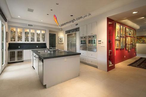 دکوراسیون داخلی خانه گران قیمت هلی بری Halle Berry - عکس شماره 6