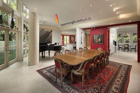 دکوراسیون داخلی خانه گران قیمت هلی بری Halle Berry - عکس شماره 4