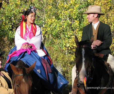 ازدواج دختر کره ای 2