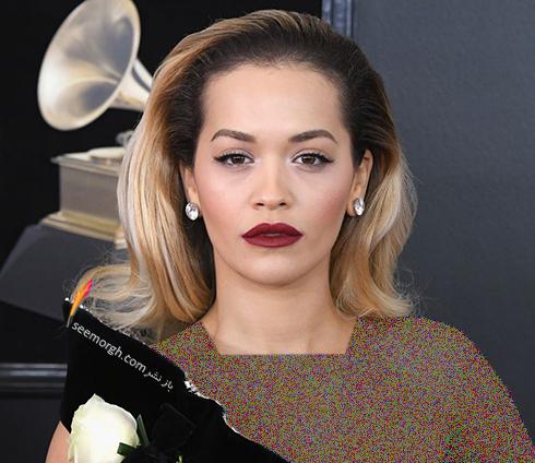 بهترین مدل آرایش صورت در جایزه گرمی 2018 Grammy - ریتا اورا Rita Ora