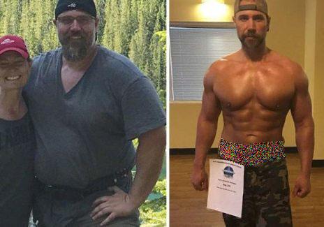 جرمی قبل و بعد از کاهش وزن و تناسب اندام