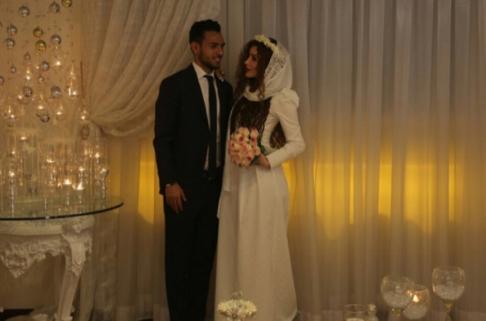 مراسم ازدواج یعقوب کریمی و نیکی محرابی
