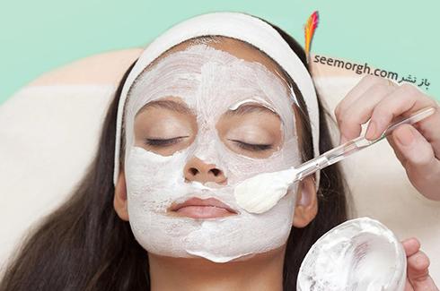 ماسک صورت برای جوانسازی پوست از ماسک زردچوبه تا ماسک خیار ماست