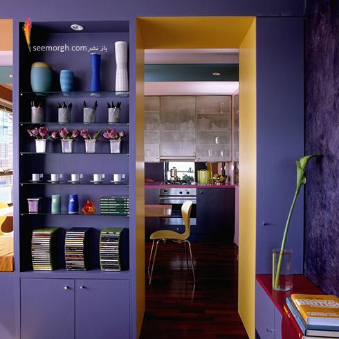 دکوراسیون آشپزخانه شماره 2 برای بهار 97 : آشپزخانه ای به رنگ سال 2018