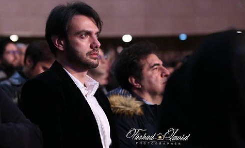 Amir Hossein Arman in the opening ceremony of the 36th Fajr Festival.jpg