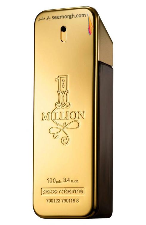 بهترین عطرهای مردانه برای زمستان 2018 - عطر 1Million از برند پاکو رابانه Paco Rabanne