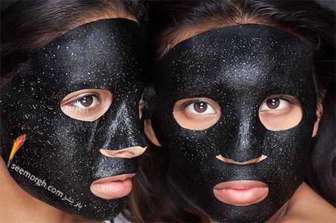 فواید بلک ماسک و ماسک طلا برای صورت