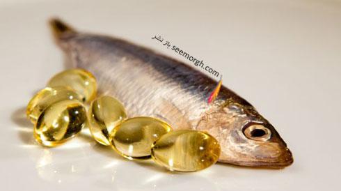 درمان لخته خون پا با  روغن ماهی