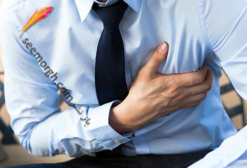 درد قفسه سینه و علت های عجیب آن حمله قلبی