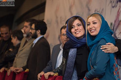 سارا بهرامی و نگار عابدی در جشنواره فجر 96
