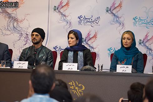 نشست خبری فیلم دارکوب در سی و ششمین جشنواره فیلم فجر
