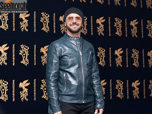 امین حیایی در سی  ششمین جشنواره فیلم فجر