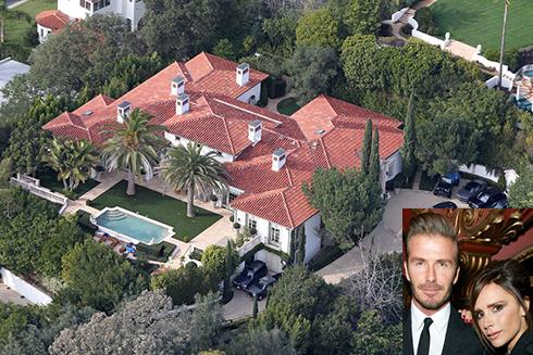 خانه بیانسه ویکتوریا Victoria و دیوید بکهام  David Beckham  - قیمت : 31 میلیون دلار