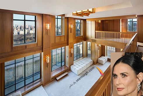 خانه دمی مور Demi Moore - قیمت : 45 میلیون دلار