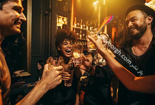 الکل,نوشیدن الکل