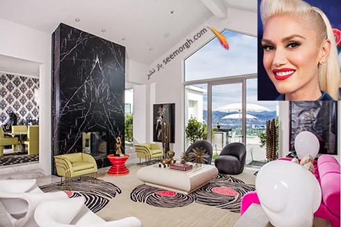خانه گوئن استفانی Gwen stefani  - قیمت : 35 میلیون دلار
