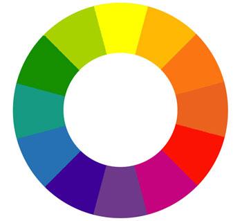 چرخه رنگ را یاد بگیرید