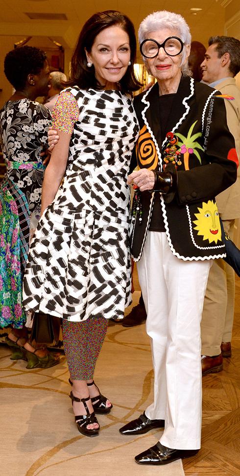 مدل لباس آیریس آپفل iris apfel مادربزرگ شیک پوش دنیای مد - ع شماره 9