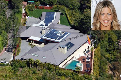 خانه جنیفر آنیستون Jennifer Aniston  - قیمت : 38 میلیون دلار