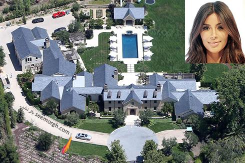 خانه کیم کارداشیان Kim Kardashian  - قیمت : 20 میلیون دلار