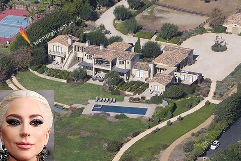 خانه لید گاگا Lady Gaga  - قیمت : 23 میلیون دلار