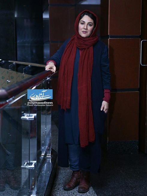 مدل مانتو بازيگران در چهارمين روز سي و ششمين جشنواره فجر - ستاره اسکندري