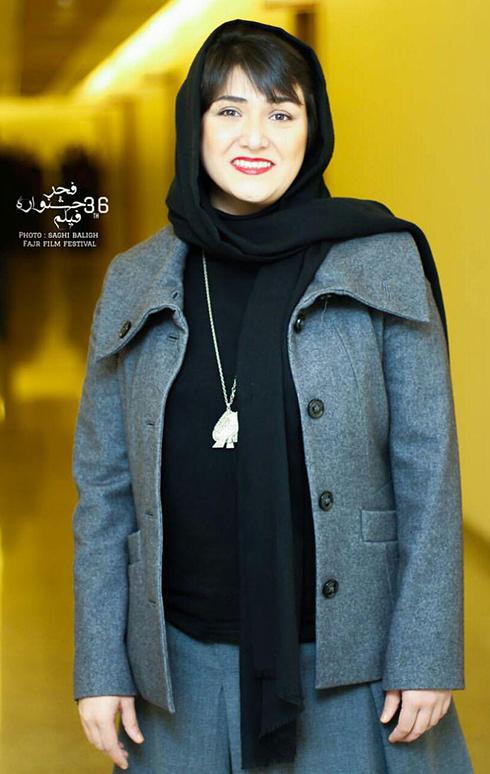 مدل مانتو بازيگران در اختتاميه جشنواره فجر 36 - باران کوثري