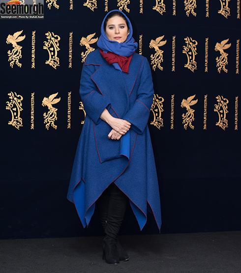 مدل مانتو بازیگران در پنجمین روز جشنواره فجر 96 - سحر دولتشاهی
