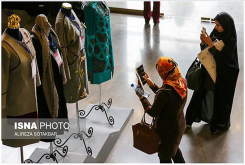 مدل  مانتو در هفتمین جشنواره مد و لباس - عکس شماره 3
