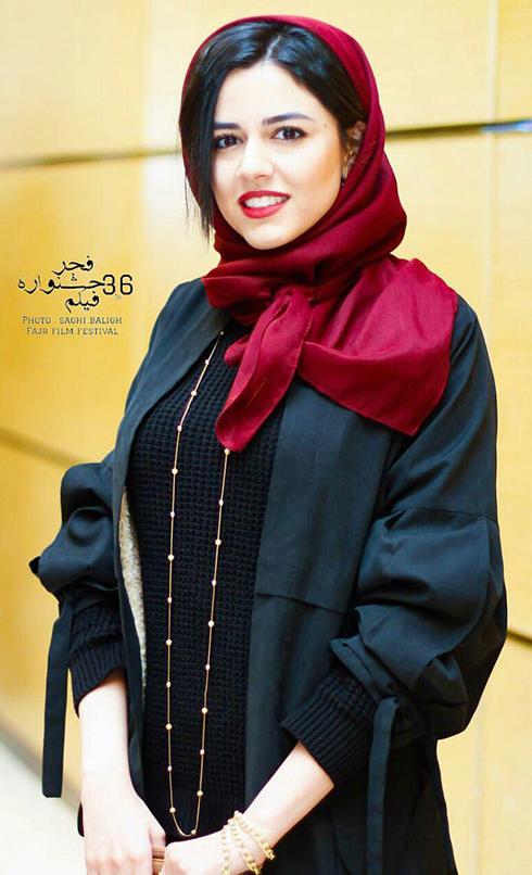 مدل مانتو بازيگران در اختتاميه جشنواره فجر 36 - ماهور الوند
