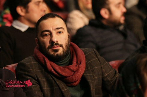 Navid Mohammadzadeh at the opening ceremony of the thirty sixth Fajr Festival.jpg