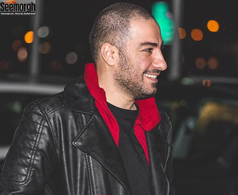 نوید محمدزاده در اکران خصوصی بدون تاریخ بدون امضا