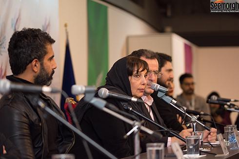 نشست خبری جاده قدیم در جشنواره فجر 36