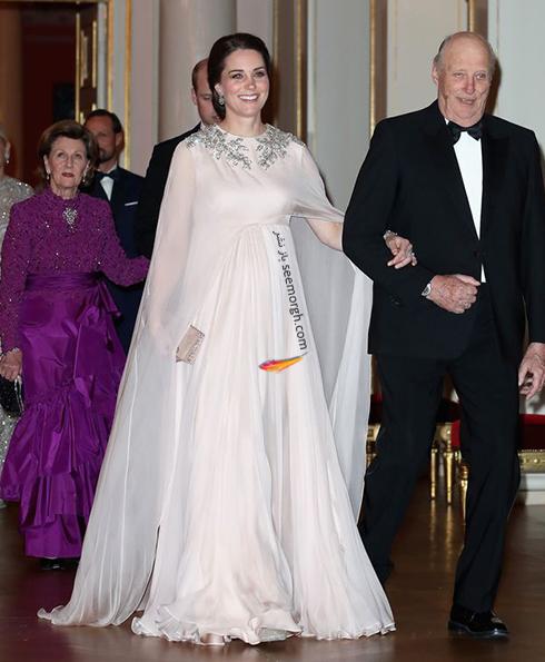 لباس بارداری کیت میدلتون از طراحی های الکساندر مک کوئین Alexander McQueen - عکس شماره 2