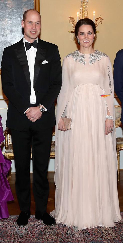 لباس بارداری کیت میدلتون از طراحی های الکساندر مک کوئین Alexander McQueen - عکس شماره 1