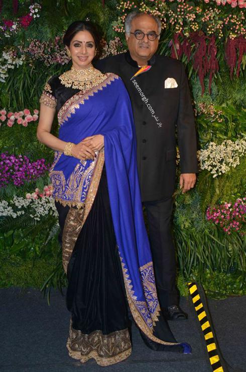 سری دیوی و همسرش بودی کاپور