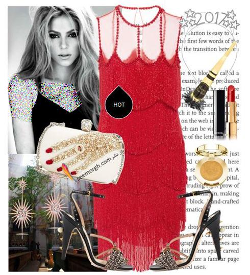 ست کردن لباس به سبک شکيرا Shakira براي ولنتاين 2018 - عکس شماره 9