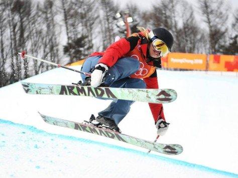 الیزابت سوانی در المپیک زمستانی