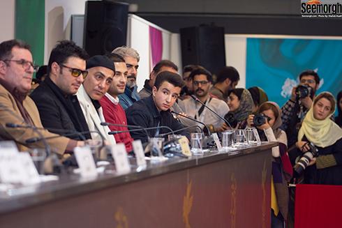 نشست خبری تنگه ابوغریب در جشنواره فجر 96