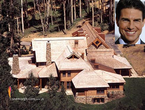 خانه تام کروز Tom Cruise  - قیمت : 59 میلیون دلار
