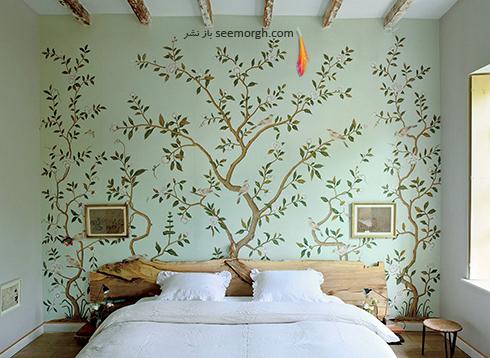کاغذ دیواری با طرح های طبیعت
