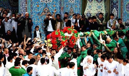 جشن گل سرخ در افغانستان