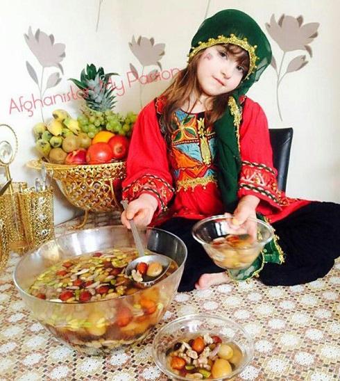 هفت میوه در جشن نوروز افغانستان