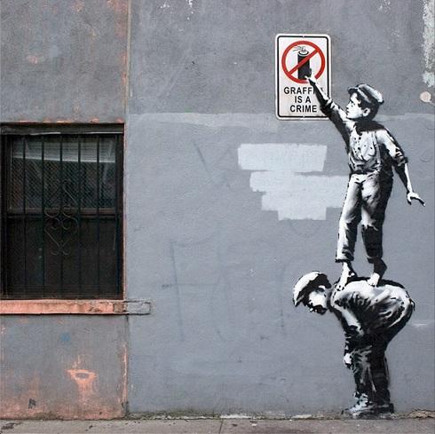دوار نگاره اثر بنکسی 3