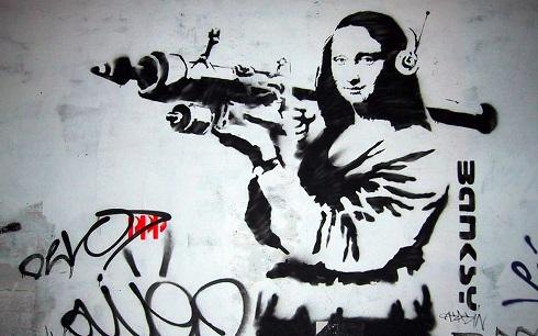 دوار نگاره اثر بنکسی 4