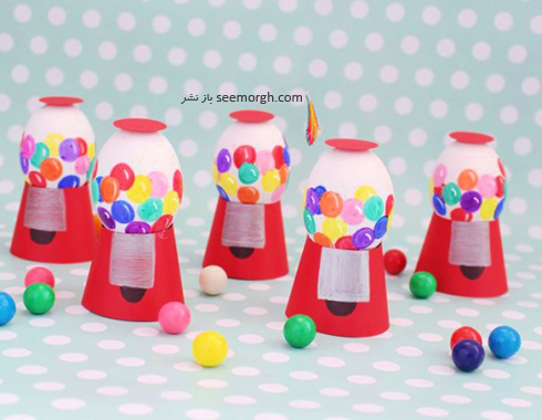 تزیین تخم مرغ هفت سین برای کودکان - عکس شماره 2